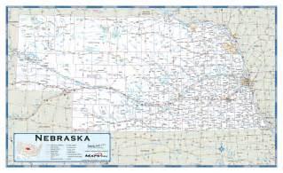 map us nebraska nebraska highway wall map maps