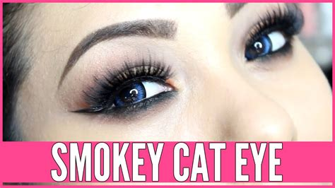 tutorial eyeliner stencil smokey cat eye tutorial using eye makeup stencils beth