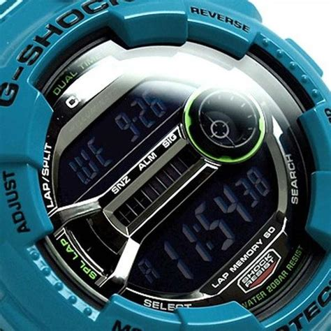 Casio G Shock Gd 110 2d Casio Original For Mens casio g shock memory 60 glossy blue resin gd 110 2d watchain
