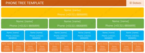 Phone Tree Template Excel by Emergency Call Tree Template Motorcycle Review And Galleries