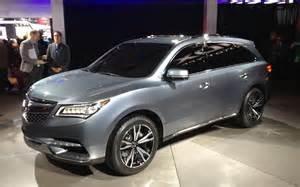 2014 mdx the all new redesign autos weblog autos post