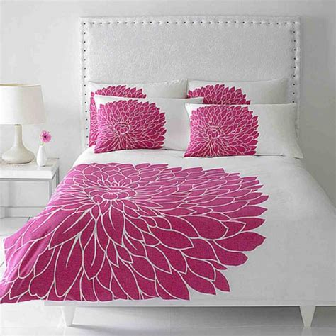 fuchsia bedding posh bedroom designs decobizz com