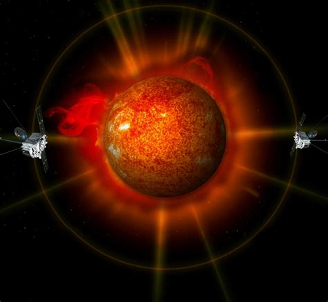 3d Images Of Sun To Help Nasa Predict Solar Flares by Stereo Images Of The Entire Sun Nasa