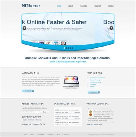 Templates Perfect Free Css3 Html5 Website Template Free Html5 Css3 Website Templates