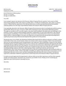 Sle Cover Letter For Non Profit by Cover Letter Help Non Profit 171 Elvis Hits