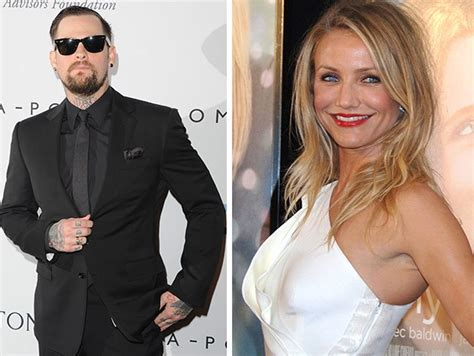What No Wedding Bells For Cameron Diaz Yet by Cameron Diaz And Benji Madden S Wedding Blue Label