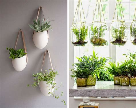 vasi sospesi per piante floating garden come realizzare un giardino con piante