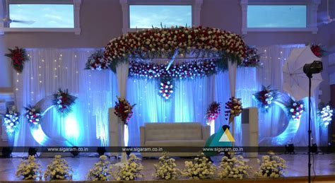 Reception and Wedding Decoration @ Shri Thangamayil