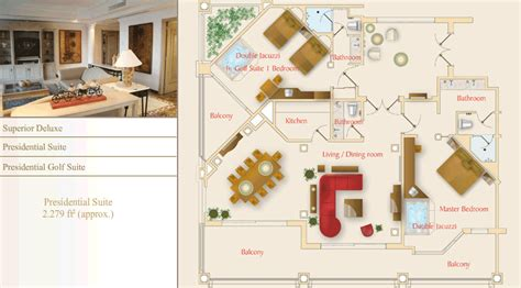 Moon Palace Presidential Suite Floor Plan | related keywords suggestions for moon palace layout