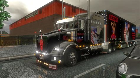 kenworth usa kenworth t800 usa metallic skin modhub us