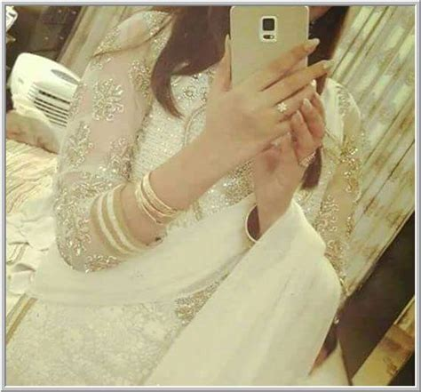 Beautiful girl in white dress hide face Dp 2016   Facebook