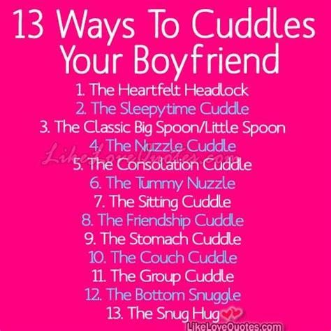 13 Tips On Talking The Right Way by 13 Best Ways To Cuddles Your Boyfriend And