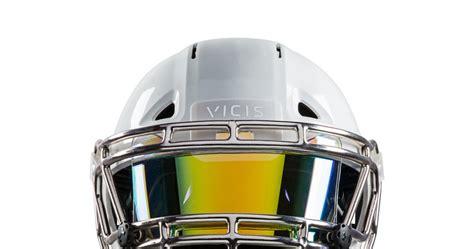 new football helmet design vicis packerville u s a new helmet design