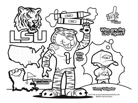free coloring pages college football lsu tigers college football coloring pages i love this