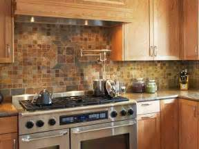 mini stone tiles 30 rustic kitchen backsplash ideas