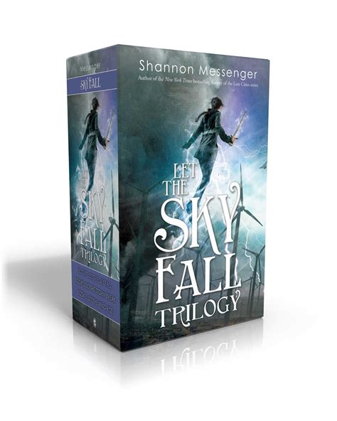 Let The Wind Rise Sky Fall let the sky fall trilogy book by shannon messenger