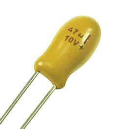 tantalum capacitor resistance 47uf 10v tantalum capacitor technical data