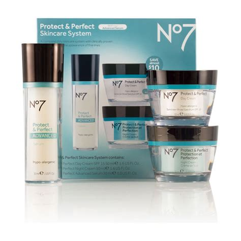 boots no 7 protect and skincare system reviews