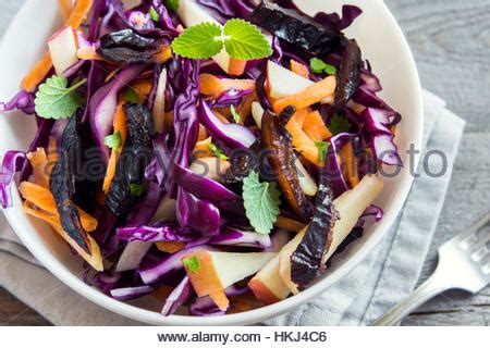 Carrot And Cabbage Detox Salad by Stock Photos Stock Images Alamy