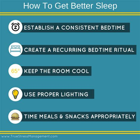 how to get better in bed stress and sleep true stress management