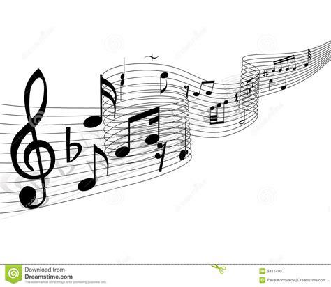 imagenes musicales descargar materia de las notas musicales foto de archivo imagen