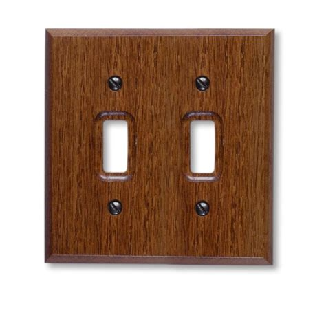 oak light switch covers upc 070686175866 toggle switch plates amerelle lighting