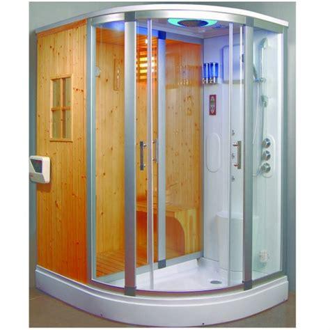 box doccia cromoterapia box doccia idromassaggio 170x130 con sauna finlandese