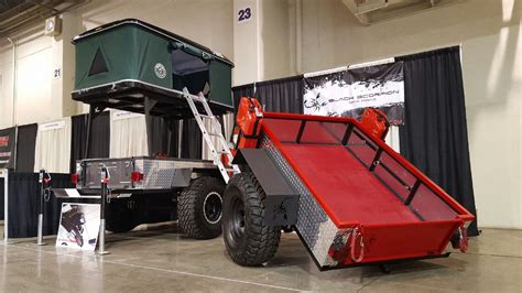 offroad trailer off road 4x4 trailer