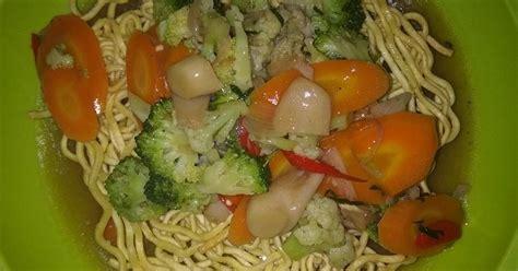 resep ifumie goreng enak  sederhana cookpad