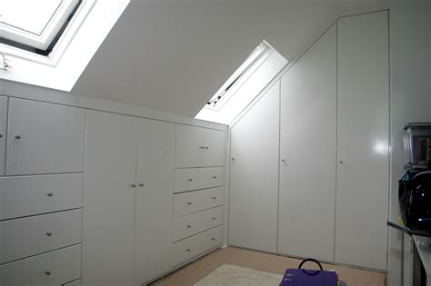 Attic Wardrobe by Going To Design A Bedroom Lab Setup Computer Setup