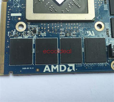 Vga Alienware dell alienware m17x m18x amd hd 7970m 2gb gddr5 vga card r3 r4 r5 ebay