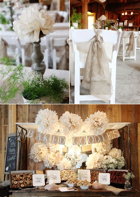 country decor table ls rustic wedding