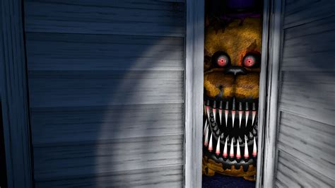 Nightmare In Closet nightmare fredbear in closet sfm remake by felix5314 on