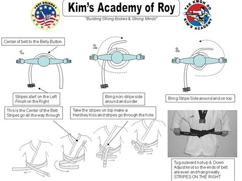kims academy of roy gt student resources gt new white belts