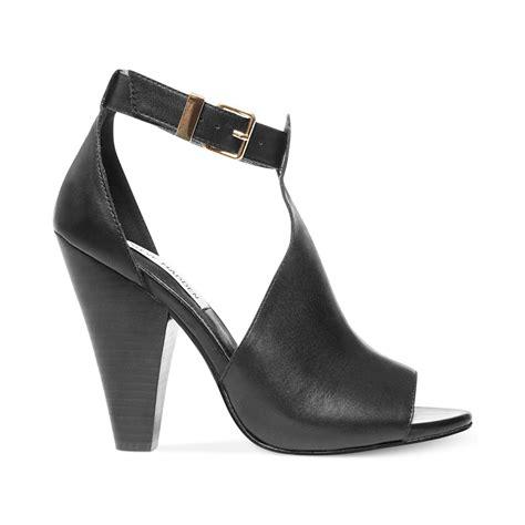 steve madden sandal steve madden womens alycce sandals in black black leather