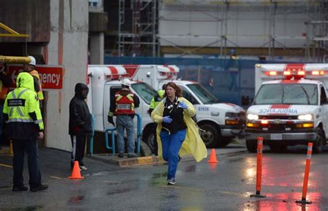 hayward emergency room surrey memorial er flooding creates confusion for visitors