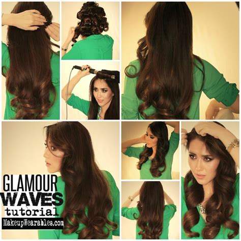 wave tutorial old hollywood glamour waves tutorial elegant long
