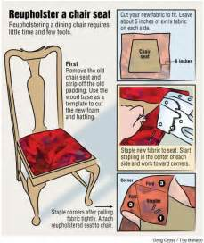 Reupholster Seat Cushion 1000 Ideas About Recover Chairs On Pinterest How To
