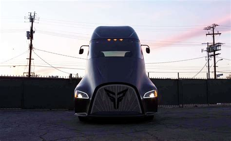 electric semi truck tesla s all electric semi truck has a new competitor from