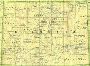 map of colorado state colorado maps and state information