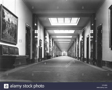 The Interior See the interior view of the reich chancellery stock photo