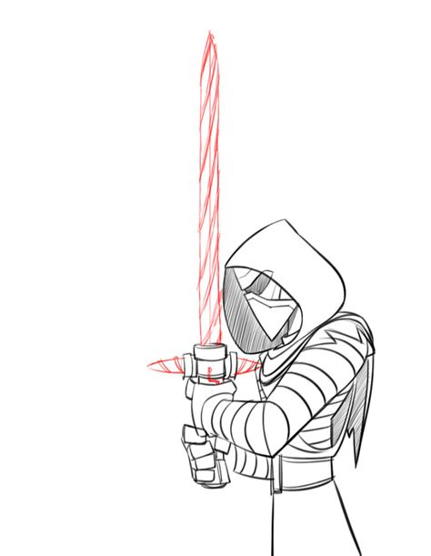 Easy Things To Draw From Wars by How To Draw Kylo Ren Disney Infinity Style Starwars
