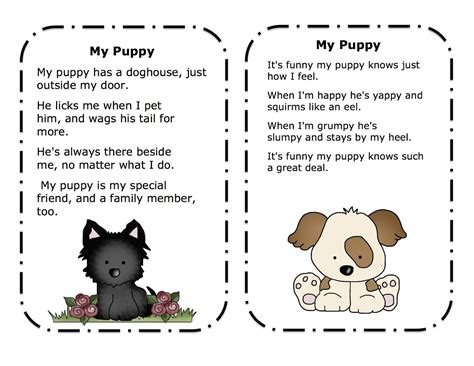 printable children s poems animal poems for kids free draw to color