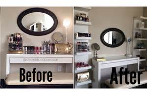 Makeup Vanity Organizer Makeup Storage And Organization Ikea Lack Shelf Unit