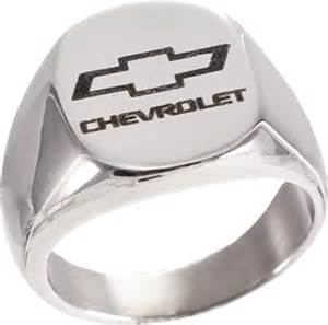 chevrolet bowtie signet ring chevymall