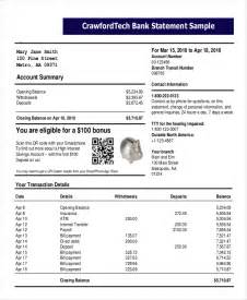 free bank statements templates statement template 10 free word pdf documents