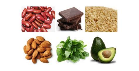 que alimentos contienen magnesio qu 233 alimentos tienen magnesio blog