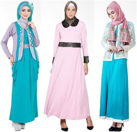 Model Baju Gamis U Pesta trend terkini model baju gamis pesta dan lebaran 2017