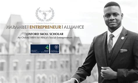 Skoll Mba Scholarships At Said Business School by Healliance Oxford Skoll Scholar Program 2018 For Africans