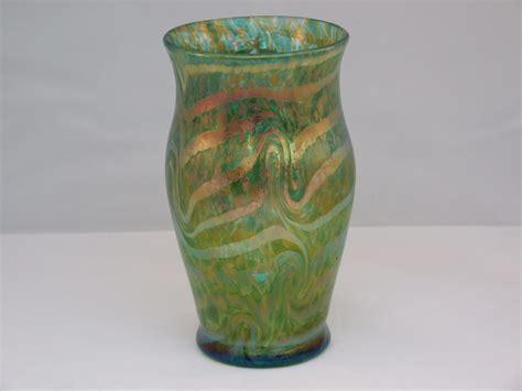 Fritz Heckert Vase kralik or fritz heckert silberband vase collectors weekly